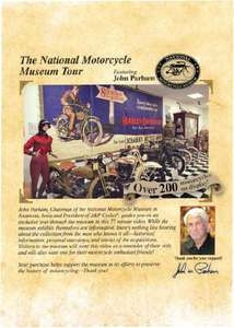 Original National Motorcycle Museum Tour DVD