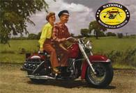 Harley Panhead Postcard