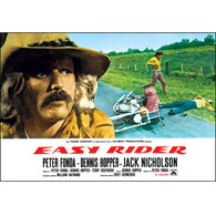 1969 Easy Rider Hopper Crash Scene Poster