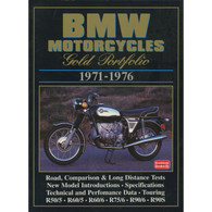 BMW Motorcycles Gold Portfolio 1971-1976