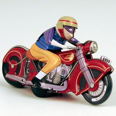 Spin Out Motorcycle Tin Racer_1