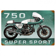 Ducati 750 Super Sport Metal Sign