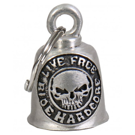 Live Free Ride Harder Guardian Bell