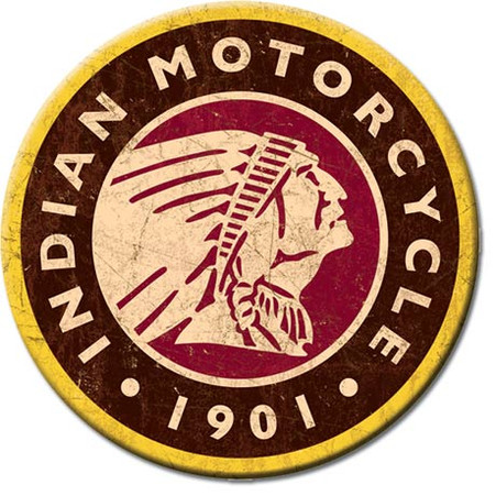 Indian Motorcycle Magnet