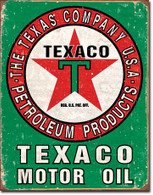 Texaco Star Motor Oil Metal Sign