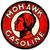 Mohawk Gasoline Round Metal Sign