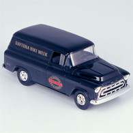 "1957 Chevy ""2000 Daytona Bike Week"" Suburban Delivery Van Die-Cast Model Coin Bank"