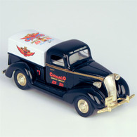"1937 Chevy ""J&P Promotions"" Pickup Truck Die-Cast Model Coin Bank"
