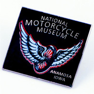 National Motorcycle Museum 'Winged Wheel' Pin