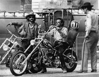 1969 'Easy Rider' Black/White Movie Poster