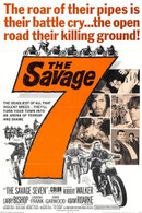 1968 'The Savage 7' Movie Poster