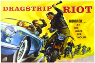 Connie Stevens 1969 'Dragstrip Riot' Movie Poster