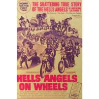 Hells Angels on Wheels Movie DVD