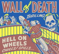 Thrilling Wall of Death Poster