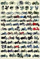 History of Harley-Davidson Poster