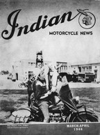 'Roy Rogers with Trigger' Indian Motorcycle Poster