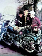 'Tex's Ride' Saturday Evening Post Cover Poster