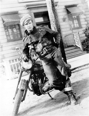 Marlon Brando 'The Wild One' Biker Movie Poster