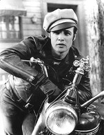 Marlon Brando 'The Wild One' Close-Up Movie Poster