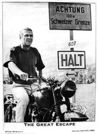 Steve McQueen 'The Great Escape' Movie Poster