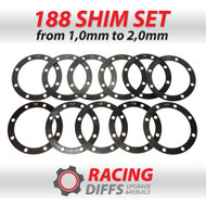 Racing Diffs BMW 188mm Differential Shim Kit