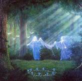 Fairy Queen Oonagh spell work ritual dance for Gushing Love feelings in another for you ~ Filling you with irresistible beauty allure magnetic hold on him/her