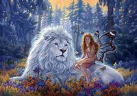 Courage of a Lion Spell to be Brave ~ Self Reliance ~ Confidence~ Respect ~ Be accepted as a leader