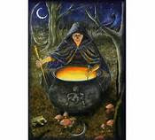 Hekate Queen of Witches Magick at Midnight custom Cauldron favors granted spell