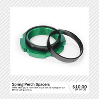 NEW*   Spring Perch Spacers