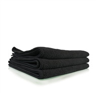 "Chemical Guys Workhorse Black Professional Grade Microfiber Towel, 16"" x 16""  (1 pc)"