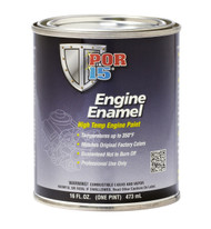 POR15 Black Engine Enamel 473ml