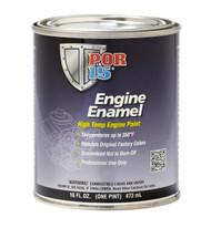 POR15 Aluminium Engine Enamel Paint 473ml