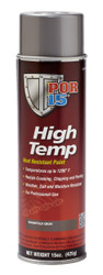 POR15 High Temp Factory Manifold Grey Heat Resistant Paint Aerosol (15oz)