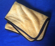"""Supersoft Yellow and black 24"""" x 16"""" Towel"""