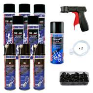 Dinitrol Small Classic Rustproofing Aerosol Spray Kit