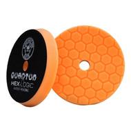 Chemical Guys Hex-Logic Quantum Medium-Heavy Cutting Pad, Orange