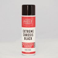 Frost Extreme Chassis Black Paint Aerosol - GLOSS Finish (500ml)
