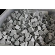 Ceramic Triangles (1kg) - Motor Parts Vibratory Tumbler Media