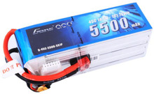 Gens Ace 5500mAh 5S1P 18.5v 45C LiPo Battery