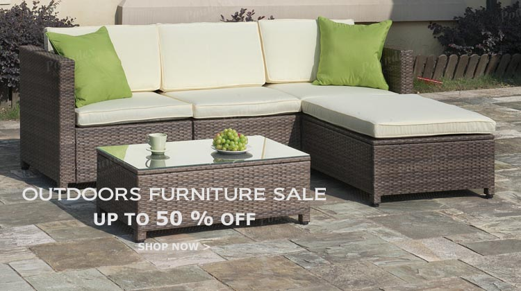 Outdoor Sectional Set by Poundex