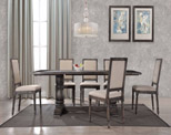 Weathered Dining Table Set