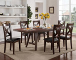 Transitional Dining Table Set