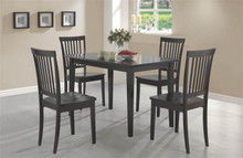Casual Cappuccino Kitchen Table and Chairs