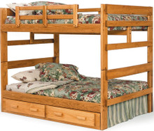 Heartland Pine Wood Full Bunk Bed