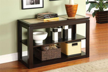 Verona Espresso Tile Top Sofa Table