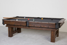 Barnwood Cheyenne Billiard Pool Table