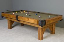 Timber Lodge Billiard Pool Table