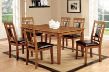 Light Oak Dining Table Set