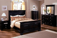 Cambridge II Dark Espresso Queen Bed