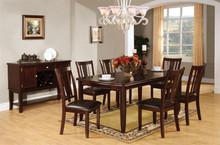 Edgewood I Espresso Dining Table Set